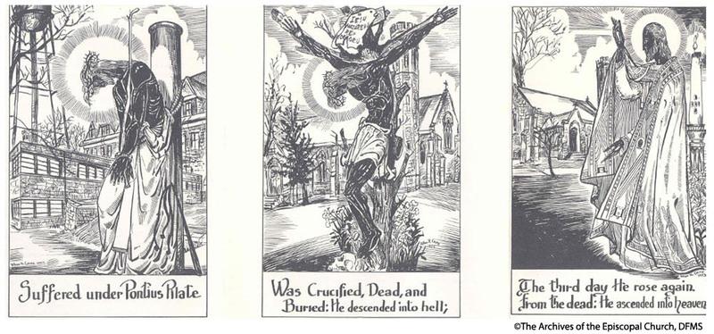 Artwork By Allan Crite Used In Protest Literature