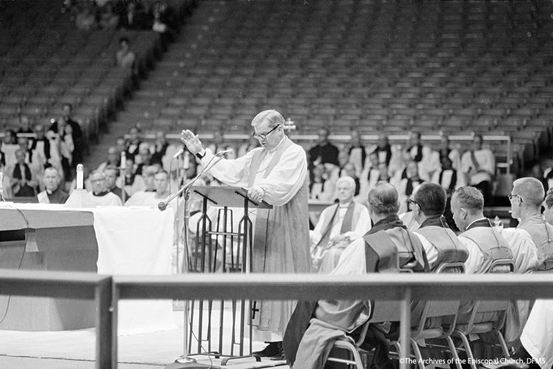 Hines At Podium, 1969