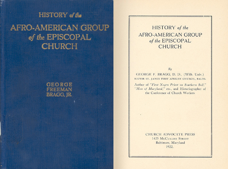 History Of The Afro-American Group Of The Episcopal Church
