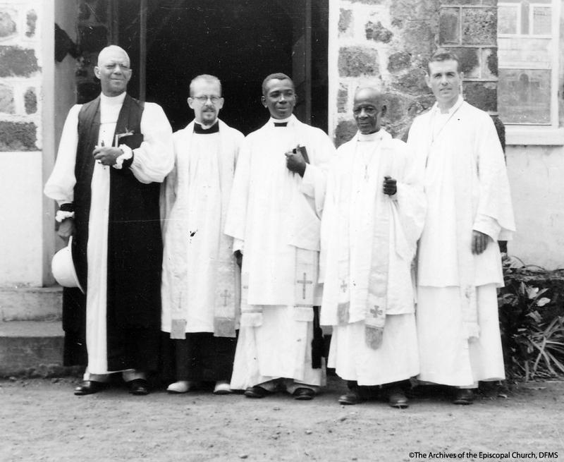 Harris And Liberian Clergy
