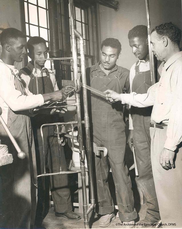 Plumbing Class At Voorhees College 1958