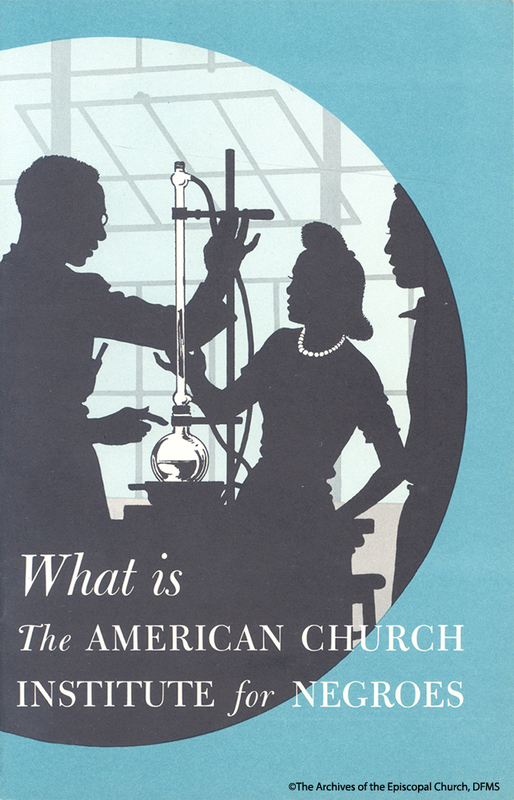 American Church Institute For Negroes Pamphlet