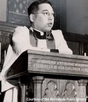 Speaking At St. Mark's, 1949