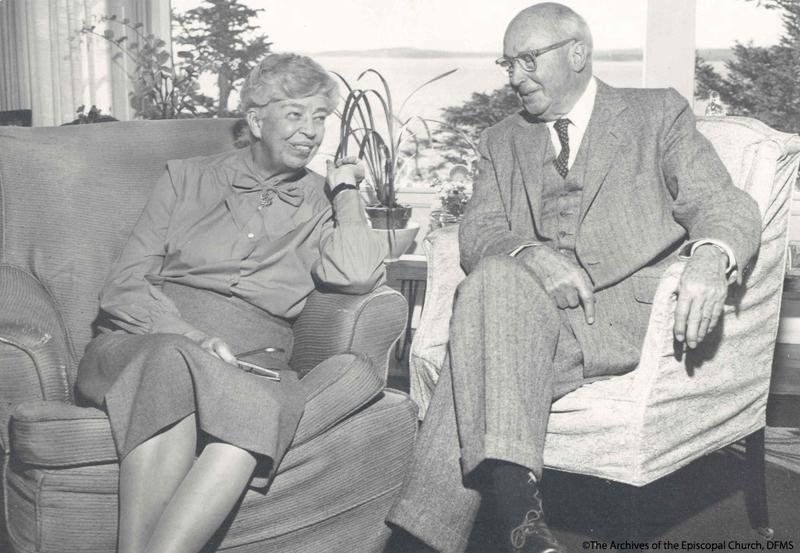 Scarlett With Eleanor Roosevelt