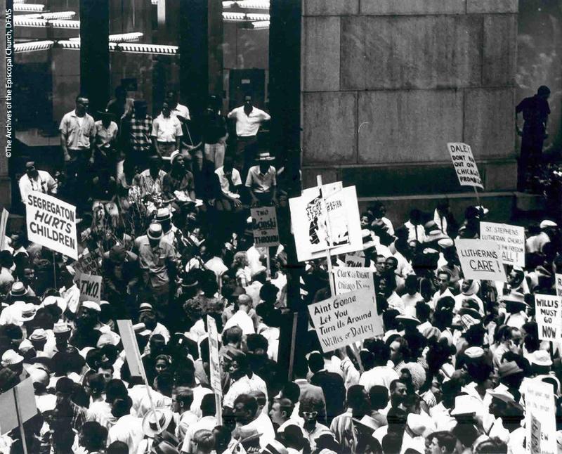 ESCRU Protest At Chicago City Hall