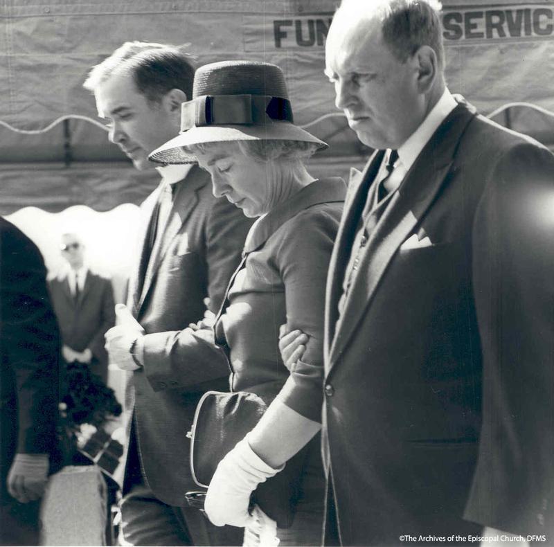 Jonathan Daniels' Family At Funeral