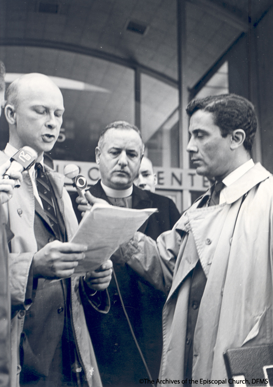 Peabody and Myers At ESCRU Pray-In, 1966