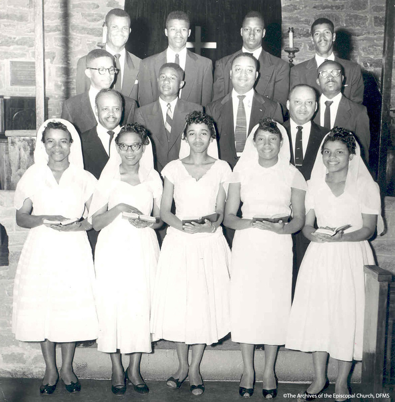 Confirmation Class At St. Augustine's College 1958