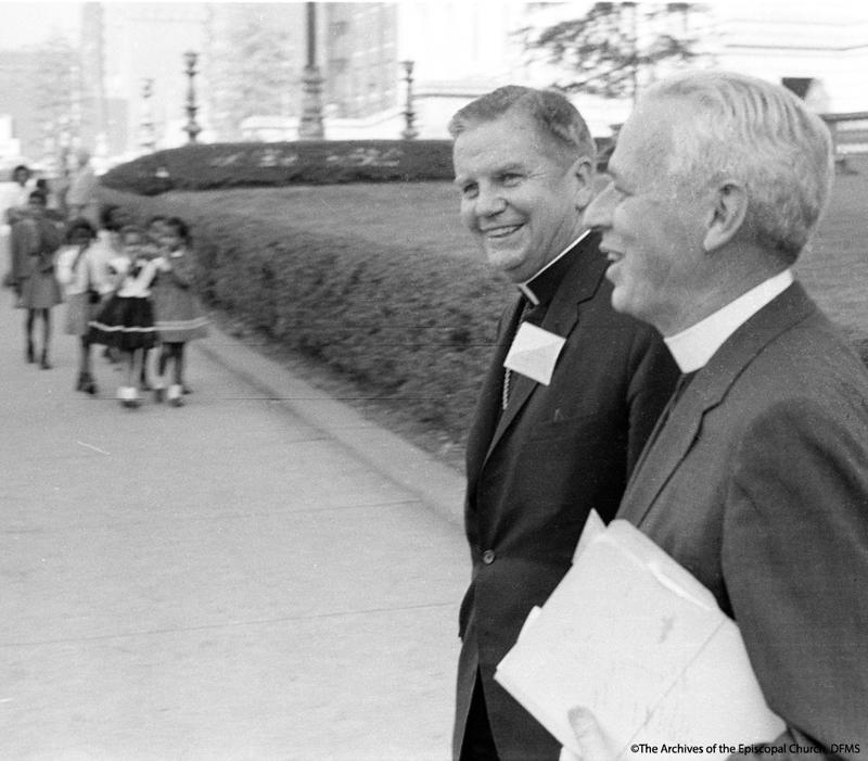 Hines With Lichtenberger, 1964