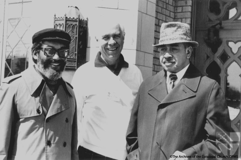 Neil With Tilson And Carter, 1979