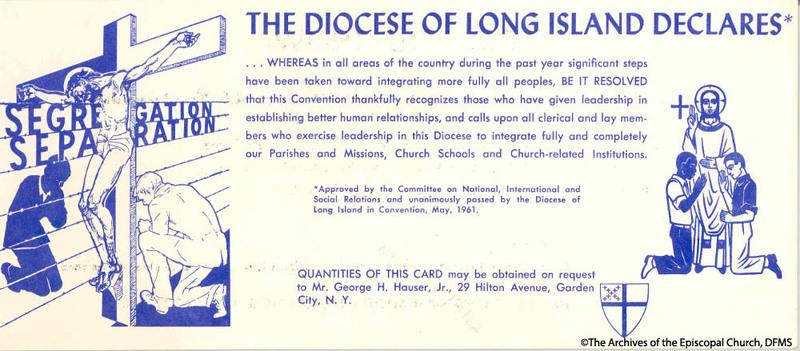 Flyer Distributed Regarding Segregation At Episcopal Hospital
