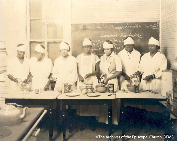 St. Philip's Cooking Class, 1927