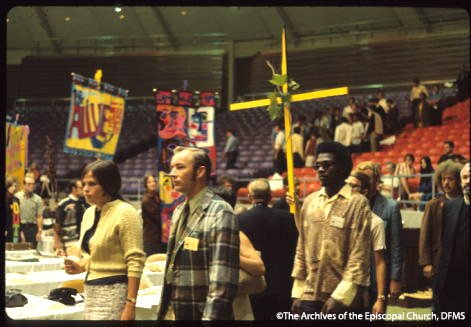 Youth Representatives At Special General Convention, 1969