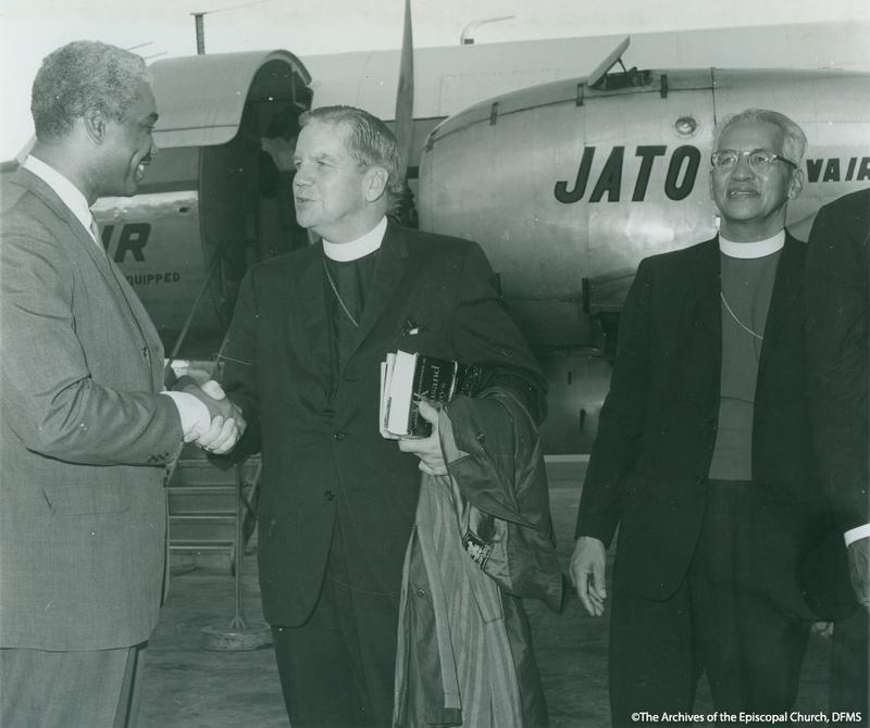 Mills With Presiding Bishop Hines