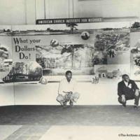 ACIN Exhibit At General Convention, 1952