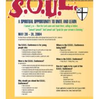 S.O.U.L. Flyer
