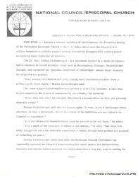 Letter By John Morris, 1963