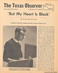 Posthumously Published Article By Jonathan Daniels, 1965