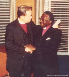 Allin With Bishop Tutu