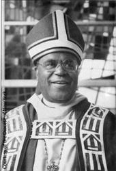 Dennis In Bishop's Mitre, 1995
