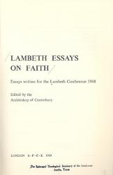 Faith And Society