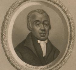 Richard Allen, Lithograph