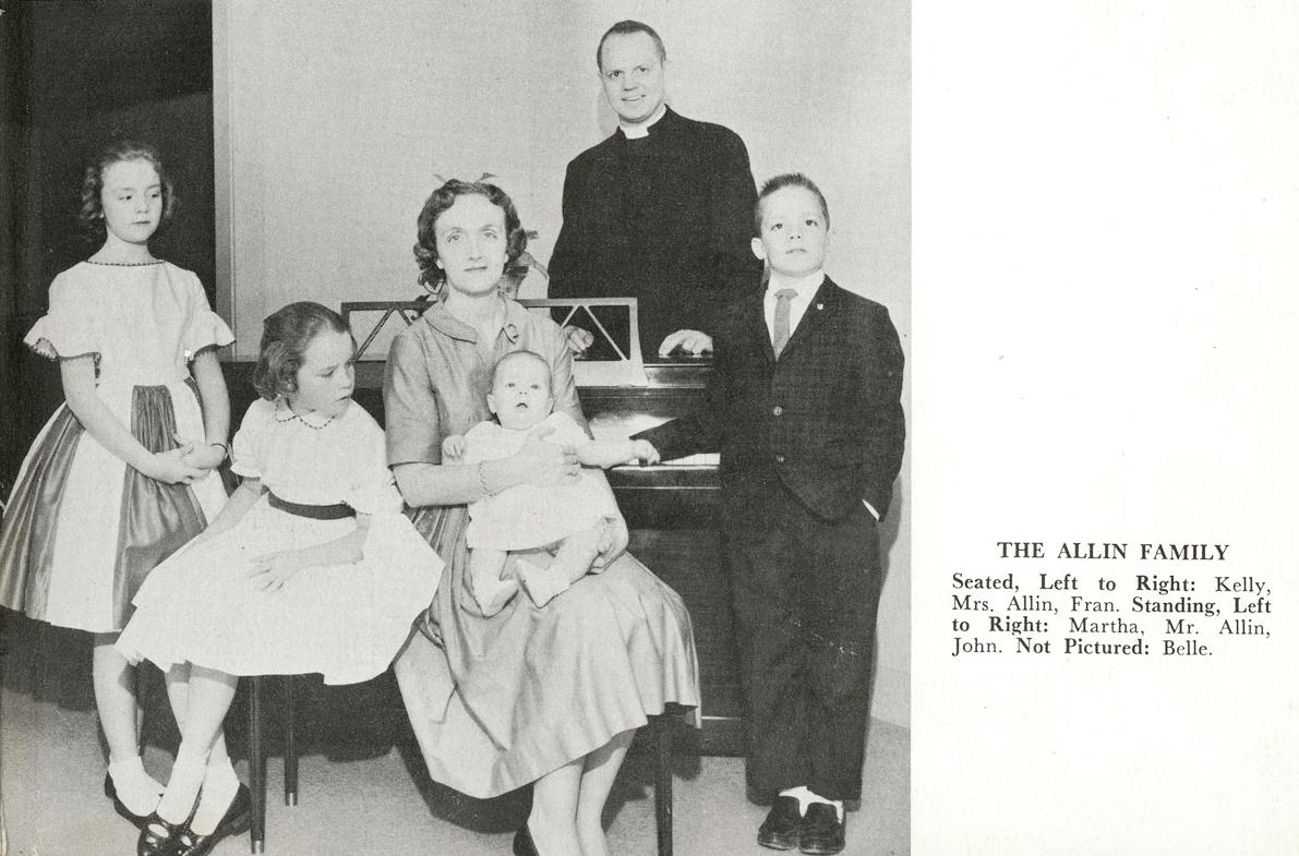 Allin family 1962
