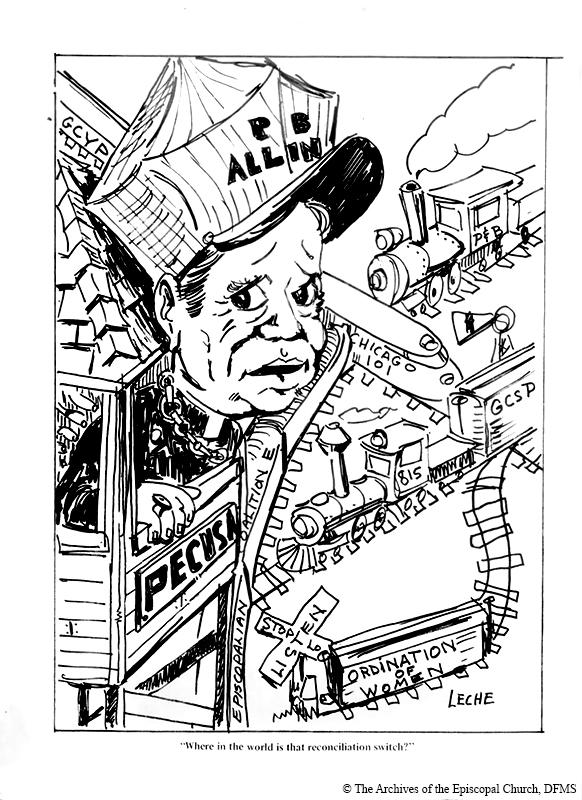 Allin Controversy Caricature