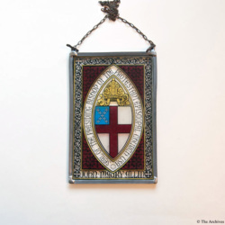 Stained Glass Plaque Artifact 52