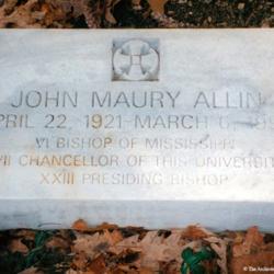 Allin Sewanee Headstone