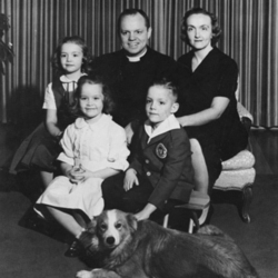 Allin Family With Dog