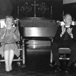Allin And Ann Clapping