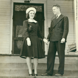 Young Allin With Young Woman