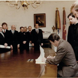 Allin With Reagan