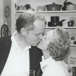Allin And Ann Kissing