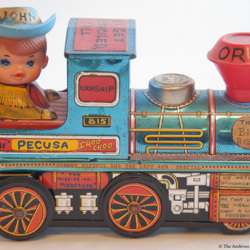 PECUSA Toy Train Artifact 54