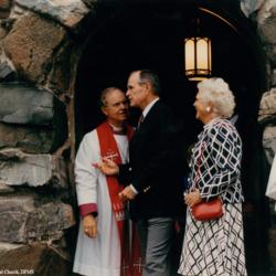 Allin And Bush At St. Ann's