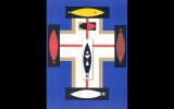 Altar cross image used by the 1964 General Convention to honor the Church's diversity.